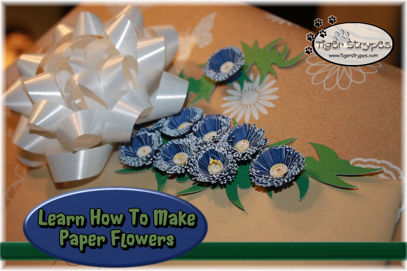 Learn How To Make Paper Flowers Tigerstrypesblog