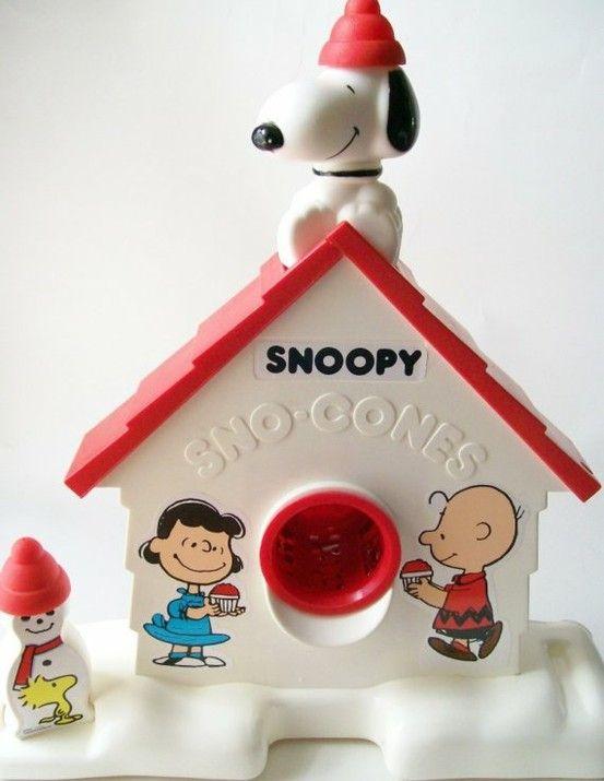 snoopy - Sno Cone Machine